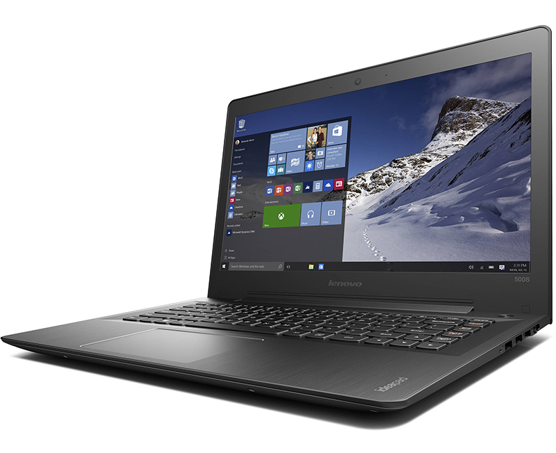 Notebook Lenovo IdeaPad 500S/ i5-6200U/ Black (80Q30087VN)