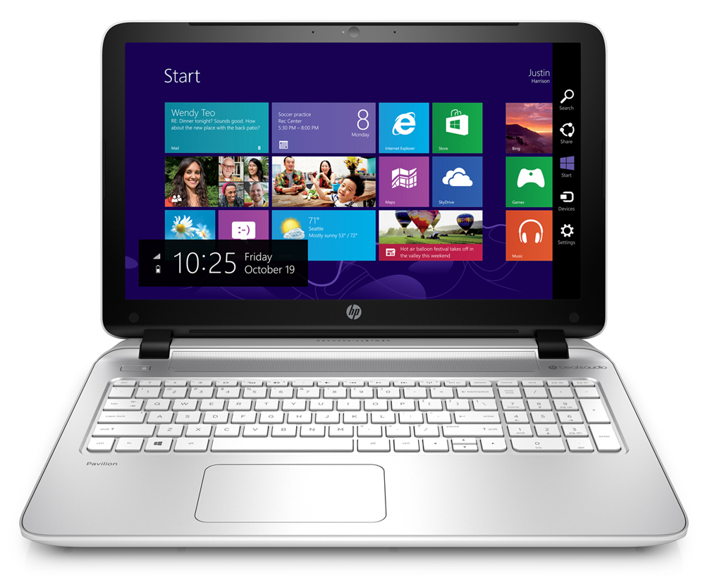 Notebook HP Pavilion 14-ab114TU/ i3-6100U/ White (P3V21PA)