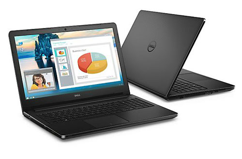Notebook Dell Vostro 15 3558/ i3-5005U/ Black/ i3-5005U/ W10/ Black (VTI37018W)
