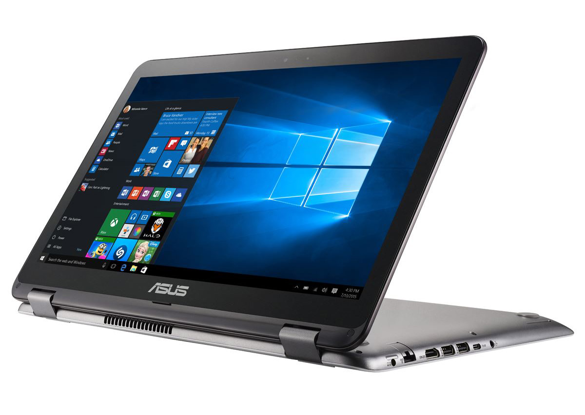 Notebook Asus TP501UA/ Core i3-6100U/ Win10/ Gray (TP501UA-DN094T)