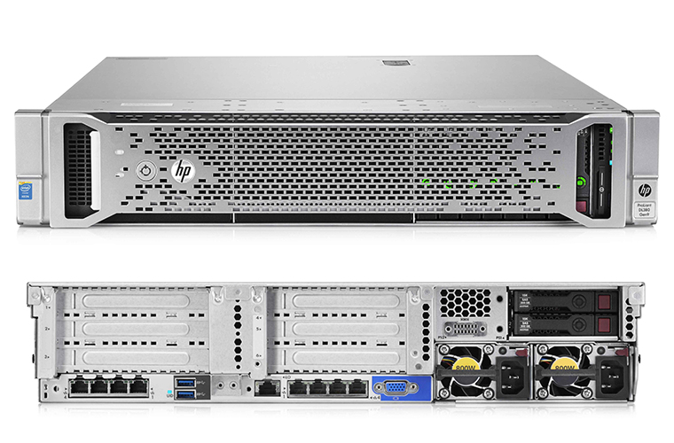HP ProLiant DL380 Generation9 8SFF (719064-B21/ 752687-B21)