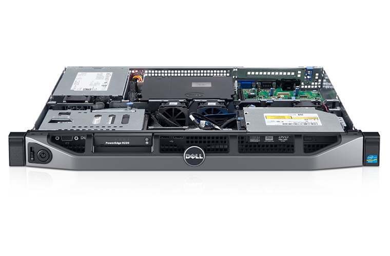 Dell PowerEdge R220 4C E3-1220v3/ PERC S110 ( )