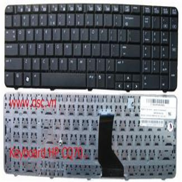 Keyboard HP Compaq CQ70-101