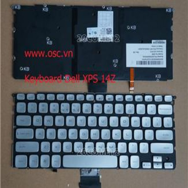 Keyboard Dell XPS L512Z