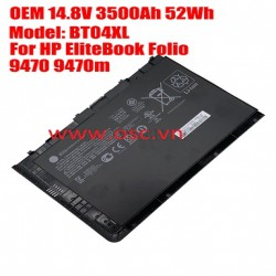 Pin Battery HP EliteBook Folio 9470M 9480M HSTNN-DB3Z 682962-001