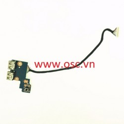 Vỉ usb laptop AMSUNG NP300E5C USB Power Button Board