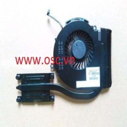 Tản nhiêt laptop HP pavilion 14-D 15-D cooling heatsink with fan