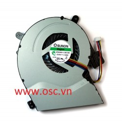 Quạt laptop  Asus X451 F451 X451CA-VX036D Compatible Laptop Fan