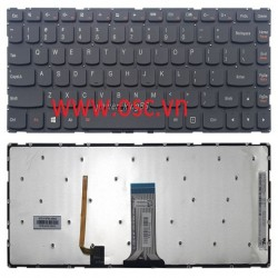 Bàn phím laptop Lenovo IdeaPad Yoga 500-14IBD 500-14IHW 500-14ISK US Black Keyboard