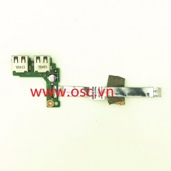 vỉ usb laptop Dell Vostro 2420 3420 1450 4050 USB Board with Cable