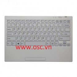 Bàn phím Sony VAIO SVT11 TAP11 VGP-WKB16A Laptop Bluetooth US Keyboard Wireless White
