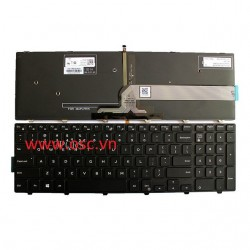 Bàn phím laptop DELL Inspiron 3551 3552 3541 3543 3542 3559 3565 3567 3558 US Keyboard Backlit