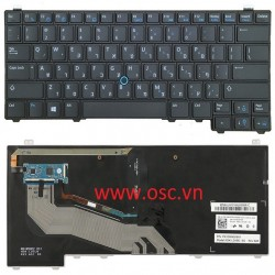 Bàn phím laptop  keyboard Dell Latitude E5440