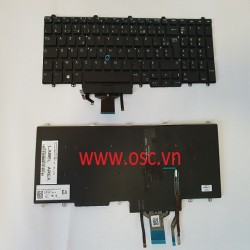 Bàn phím laptop Dell Latitude E5550 E5570 E5580 BACKLIT Keyboard