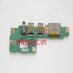 Vỉ usb laptop Asus K501 K501LX A501L K501LB K501U Rev 2.0 USB Audio Card Reader Board