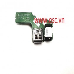 Vỉ nguồn laptop  Lenovo Z470 Z475 Z475A DC Power Jack USB Port Charging Board DA0KL6TB6E1