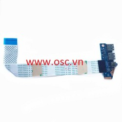 Vỉ tai nghe và usb laptop HP 430 440 450 455 470 G2 Audio USB Board LS-B183P With Cable