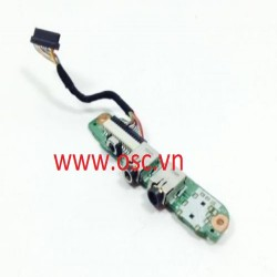 vỉ âm thanh laptop  HP Pavilion DV6000 - Audio Sound Port board & Cable DA0AT8AB8F9