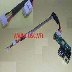 Vỉ cắm nguồn laptop  HP Pavilion DV6000 G6000 DC Power Jack Port Board with Cable Connector