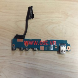 "Vỉ usb laptop TOSHIBA 12.5"" U920T U925T GENUINE POWER BUTTON USB BOARD"
