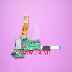 Vỉ tai nghe laptop TOSHIBA U920T U925T GENUINE AUDIO CARD READER BOARD & CABLE