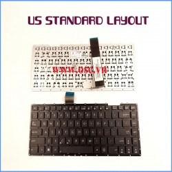 Bàn phím laptop US Keyboard for ASUS K450LN K450LNV K450LDV K450VE K450JN K450JF K450