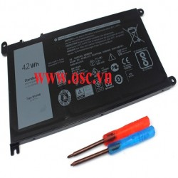 Pin laptop Battery for Dell Inspiron 13 5379 5368 7378 15 5567 7569 7579 17 5767