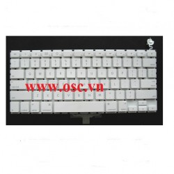 Thay bàn phím laptop Keyboard for Apple MacBook A1181 - US English White