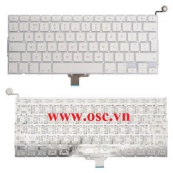Thay thế bàn phím laptop Apple MacBook 13 Unibody A1342 Keyboard UK Layout + Power Button 2009-2010