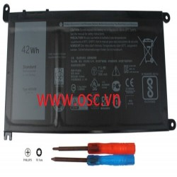 Thay Pin laptop Battery For Dell Inspiron 13 5378 7368 14 5567 7460 7560 15 5568 5578