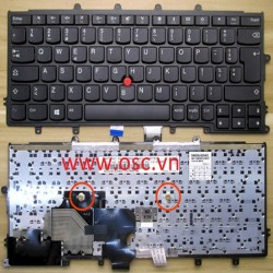 Bàn phím laptop Lenovo IBM ThinkPad X230S X240 X240S X250 X260 X270 US Keyboard