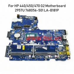 Thay main laptop HP 440 450 470 G2 Laptop Motherboard 768056-501 768056-601 LA-B181P