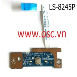 Vỉ click nguồn laptop Latitude E5520 5520 Power Button Board with Cable