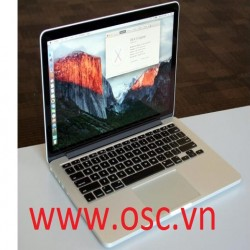 Thay vỏ laptop Apple MacBook Pro A1502 Retina Display ME864LL A Conver Case A B C D