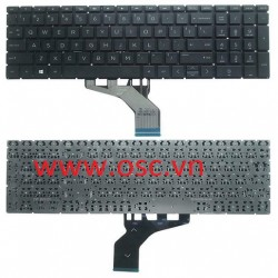 Bàn phím laptop US Laptop Keyboard for HP 15-DA 15-DB 15-DX 15-DB0030NR 15-DB0031NR Non-Backlit