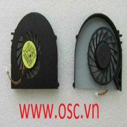 Quạt laptop  Dell Inspiron 15R N5110 VOSTRO 3550 V3550 3-wire cpu cooling fan