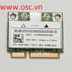 Thay cạc wifi Dell Vostro Dual Band Wireless N Card 3300 3400 3500 3700 Half Height WLAN WIFI