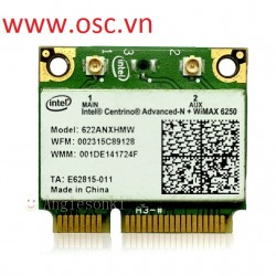 Thay cạc wifi 300M intel 6250ANX For Dell Inspiron XPS 15 17 M5010 N4010 N5010 N7010 WiFi Card