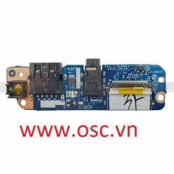 Vỉ click nguồn laptop Dell E7450 E7250 Power Button/USB/Audio Port IO Circuit Board LS-A961P