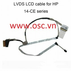 Cáp màn hình laptop HP Pavilion 14 CE 14-CE LCD Screen Display Cable L26361-001 DD0G7ALC011