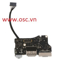 "vỉ rắc nguồn và IO lapop Mack 820-3455-A DC Power Jack I/O Board For Apple MacBook Air 13"" A1466"