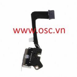 DC-IN Jack Power Board for MacBook Pro Retina A1502 Charging Port DC Connector