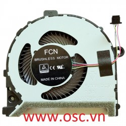 Thay quạt tản nhiệt CPU Cooling Fan For Dell Inspiron 13 5370 14 5471 0RV0CY radiator fan 4 wire