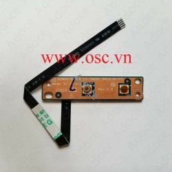 Nút mở nguồn Lenovo G480 G485 G580 G580 Power Button Switch Board w/ Cable LS-7983P