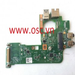 Thay vỉ âm thanh laptop DC POWER USB IO BOARD FOR DELL INSPIRON 15R N5110 VOSTRO V3550