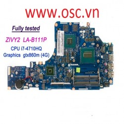 Thay main Lenovo Y50-80 Y50-80T 80DU LA-B111P i5 i7-4710HQ CPU GTX860m 4G Motherboard